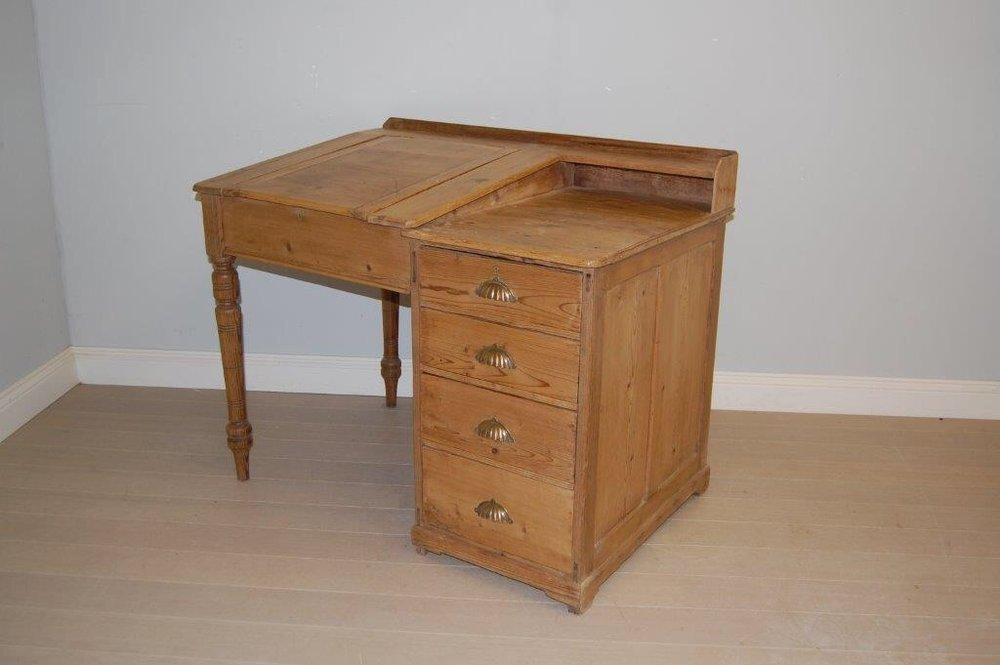 Antique Pine Desk ... - Antique Pine Desk - Antiques Atlas