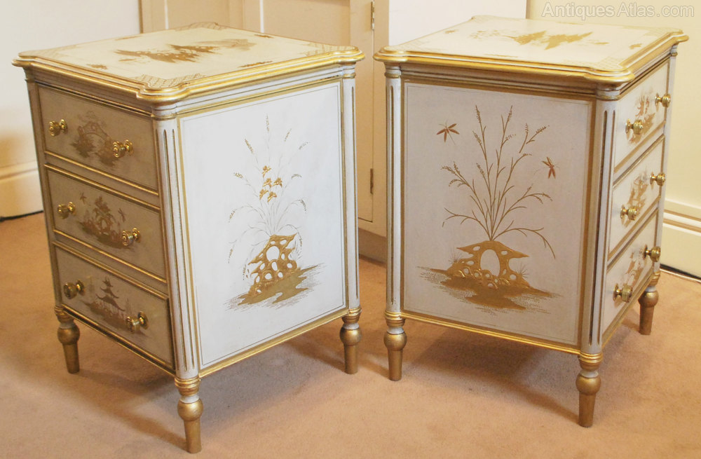 Chinese style bedside cabinets cabinets matttroy for Japanese bedside table