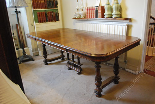 French Oak Extending Dining Table 8 10 Seater Antiques Atlas