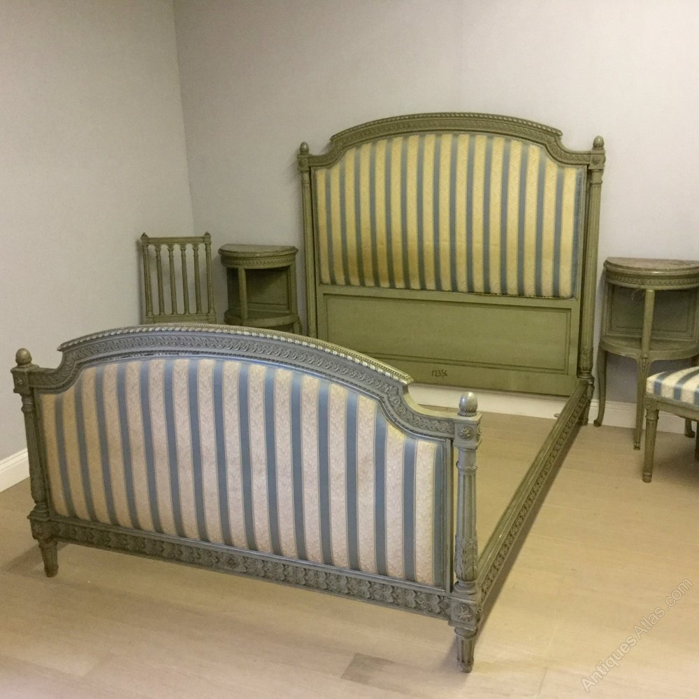 French Antique Bedroom Suite Kingsize Bed Etc Antiques
