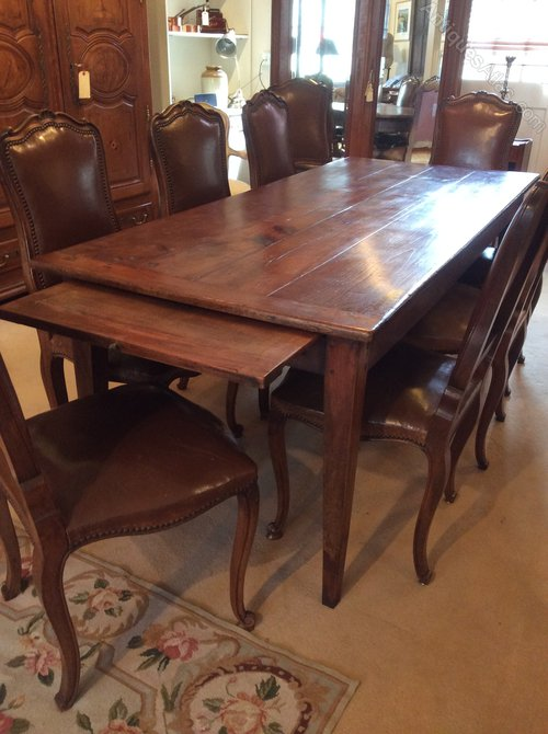 French Antique Cherry Wood Table 8 Seater Antiques Atlas