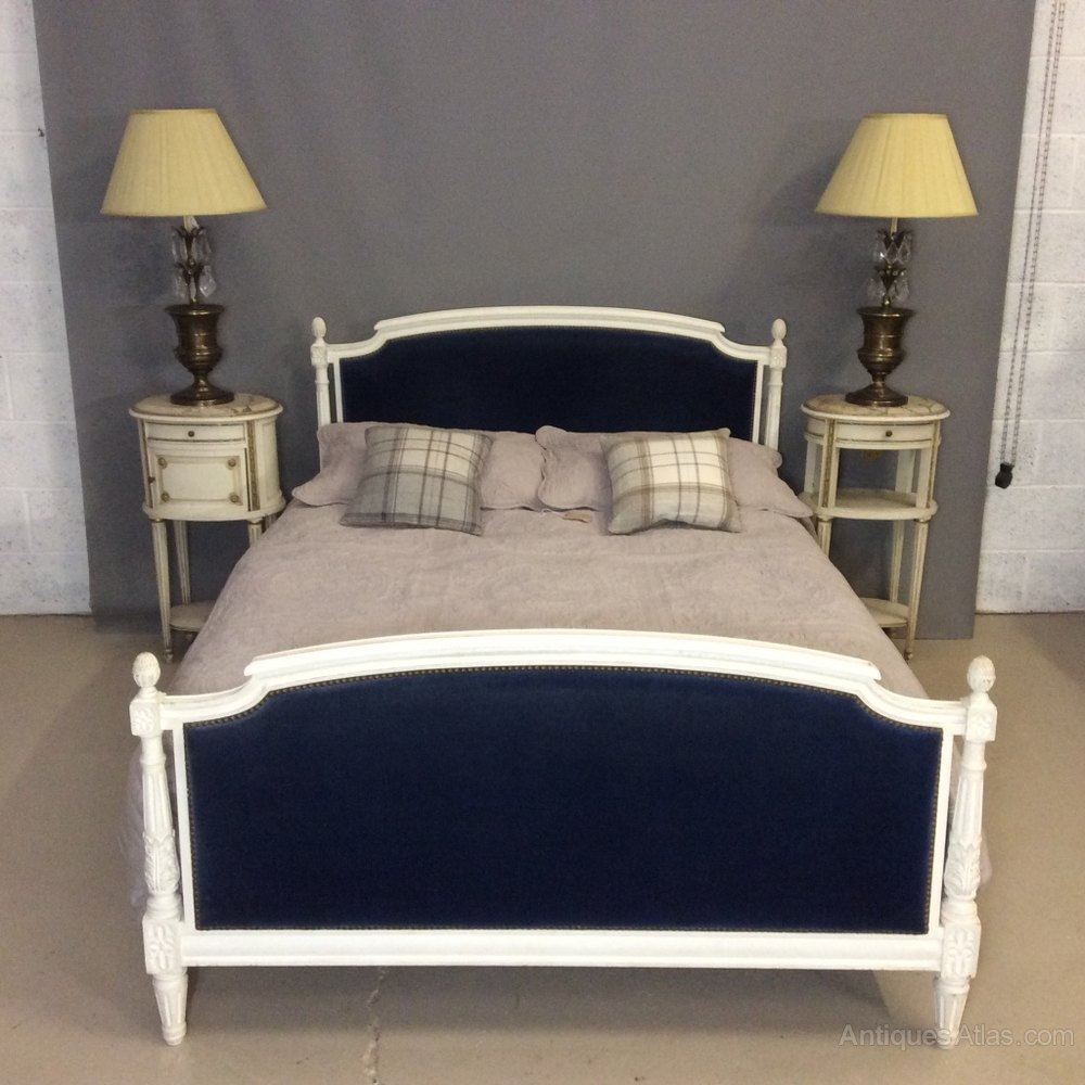Vintage French Antique Double Bed