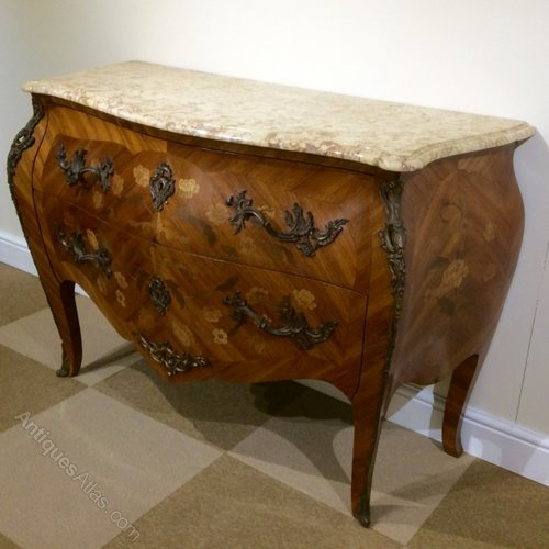 French Bombe Commode Chest Of Drawers Antiques Atlas
