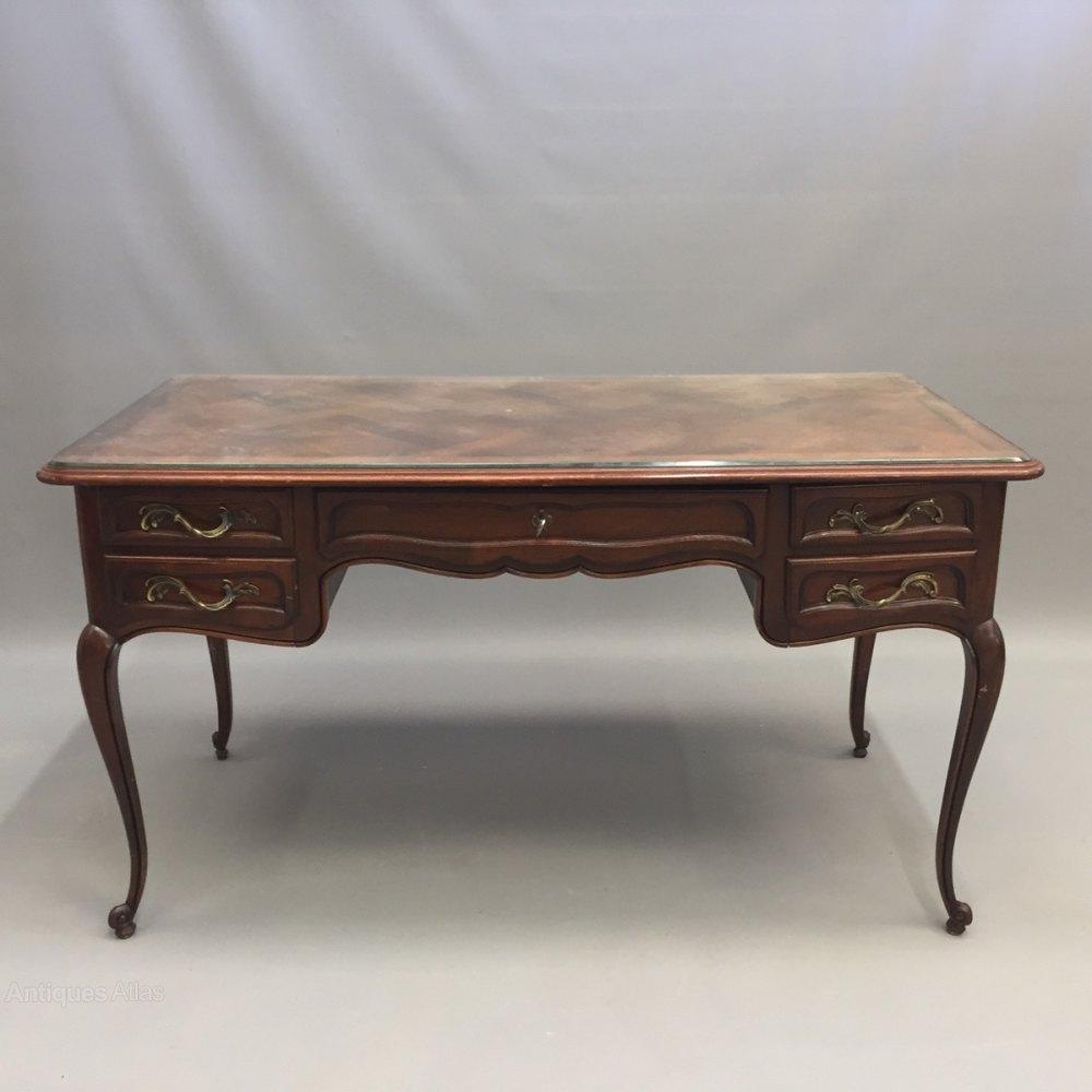 Antiques atlas french bureau plat desk for Bureau french