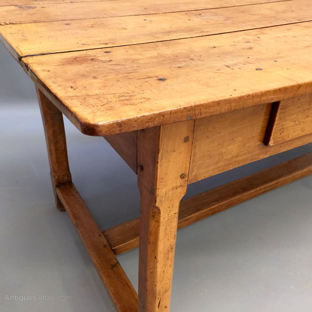 Oak Refectory Tables For Sale Fantastic early c19th French pale cherry wood refectory table with ...