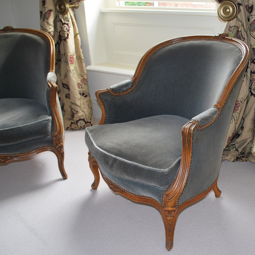 Antique tub chairs - Pair Of French Antique Tub Chairs Antique Tub Chairs