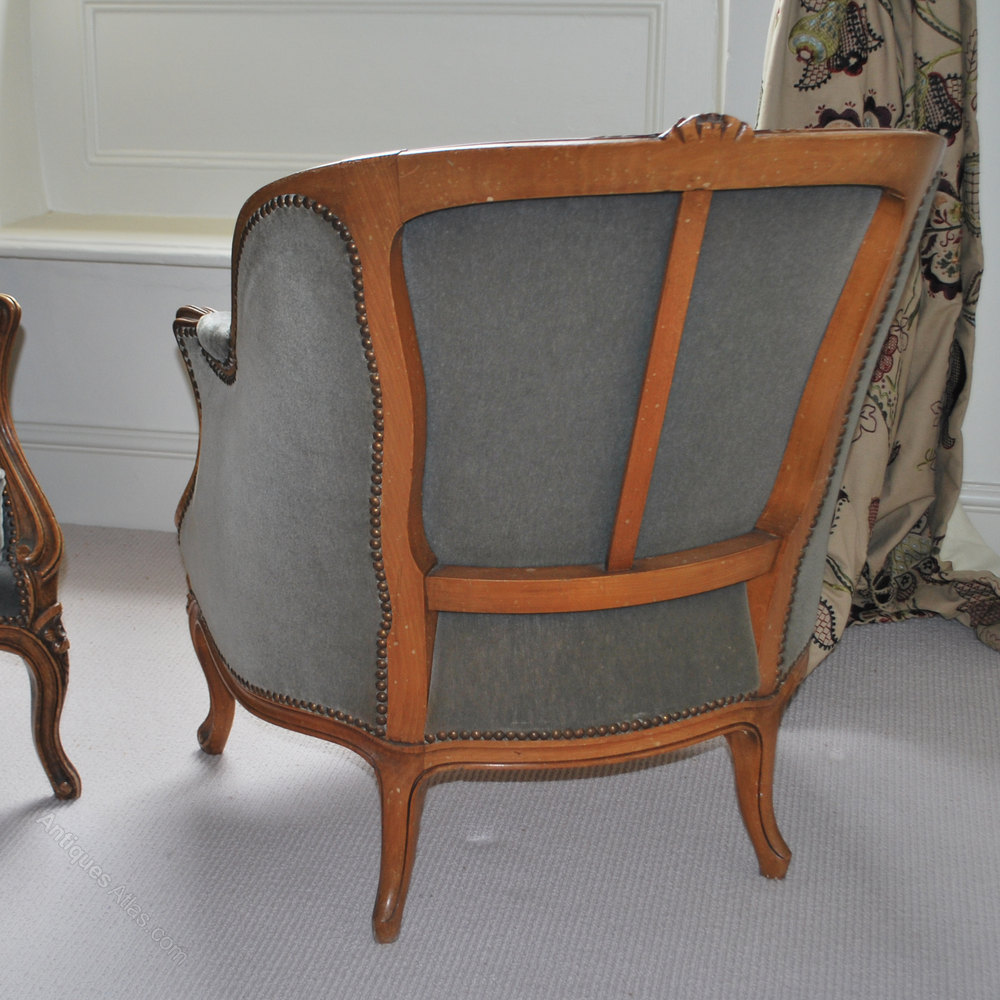 Antique tub chairs -  Tub Chairs French Antique Chairs