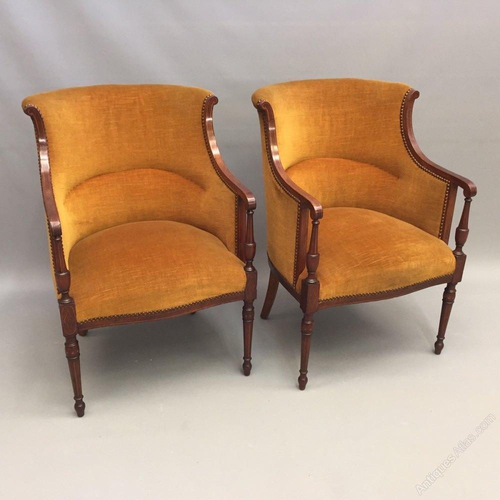 Antique tub chairs -  Antique Tub Chairs