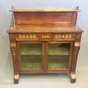 Antiques atlas antique auction rooms amp auction houses in wfg antiques regency brass inlaid chiffonier bookcase publicscrutiny Choice Image