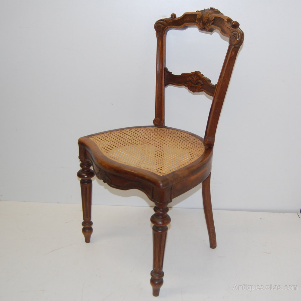 ... cane seats Set of 8 Antique Dining Chairs ... - Set Of 8 French Dining Chairs With Cane Seats - Antiques Atlas