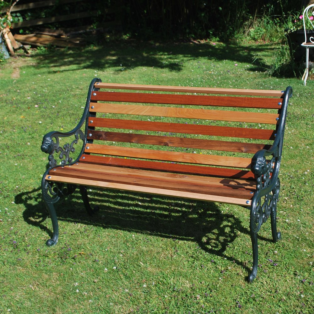 Charmant Antique Garden Benches Cast Iron