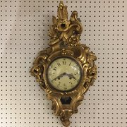 Antique fairs in leicestershire and northamptonshire market wfg antiques swedish giltwood cartel clock publicscrutiny Choice Image