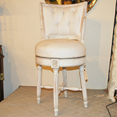 Vintage Swivel Dressing Table Chair A11227