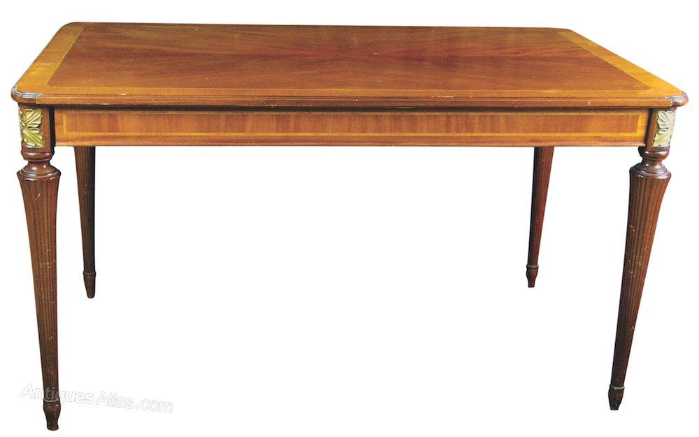 256cm Biedermeier Style Dining Table ...