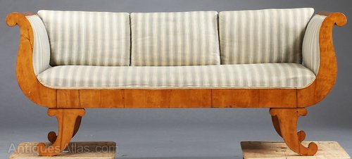 Antique Swedish Biedermeier Sofa Settees And Sofas