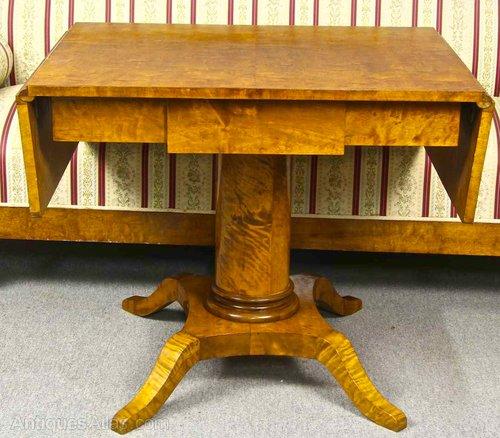 Antique Swedish Biedermeier Table
