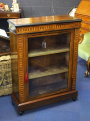 ... Antiques Victorian Rosewood Pier Cabine