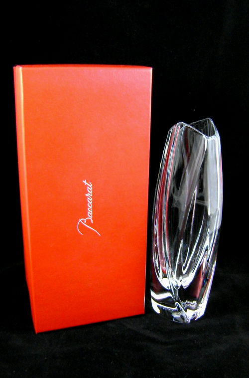 Antiques Atlas Baccarat Art Glass Small Giverny Bud Vase