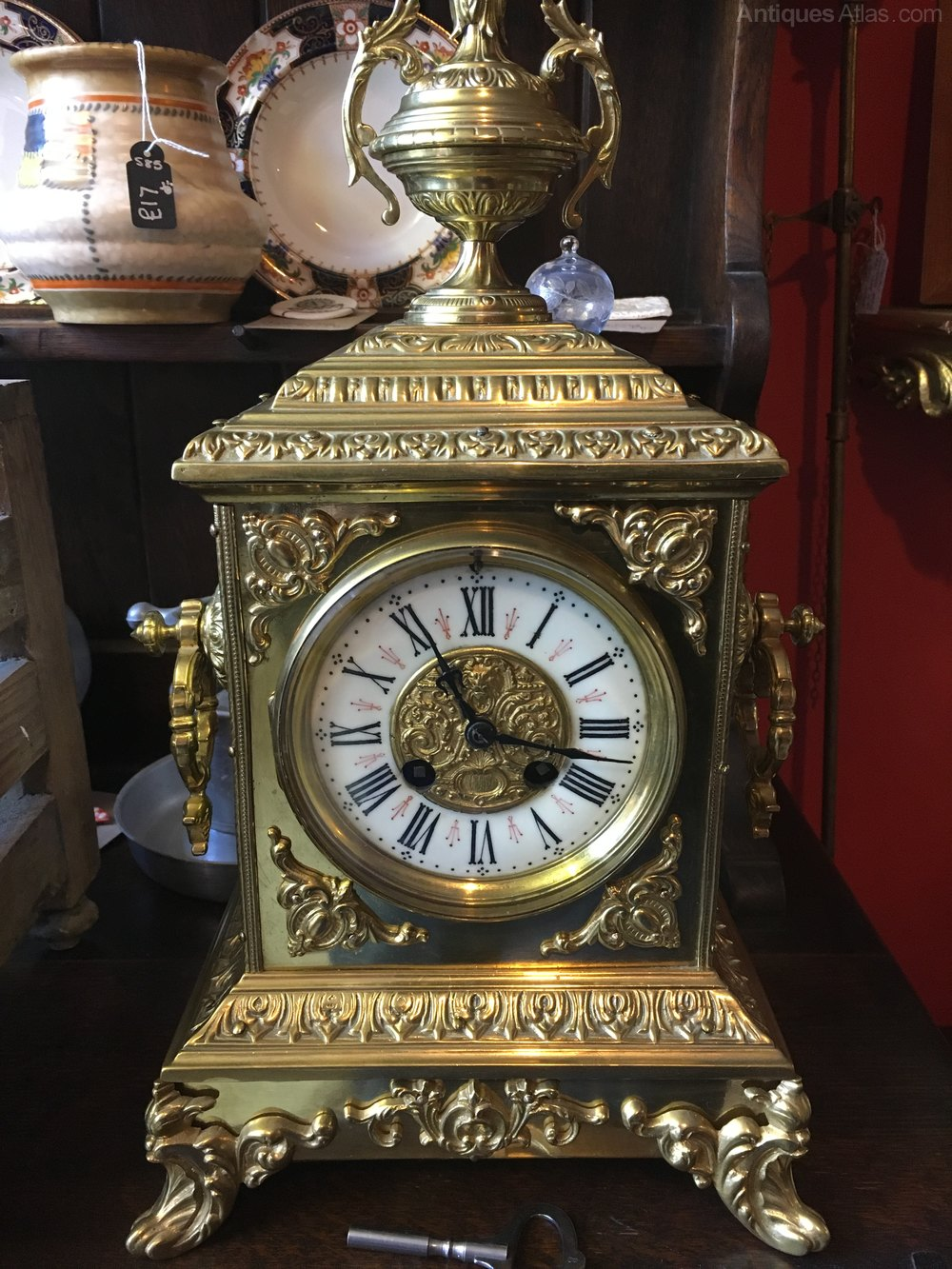 Antiques Atlas Antique French Brass Japy Freres