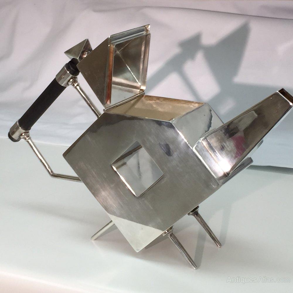 Christopher Dresser Silverplate Teapot