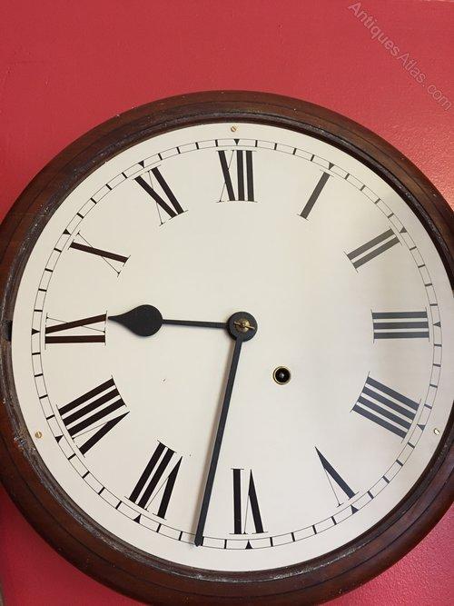 School 8 Day Wall Clock By Seth Thomas
