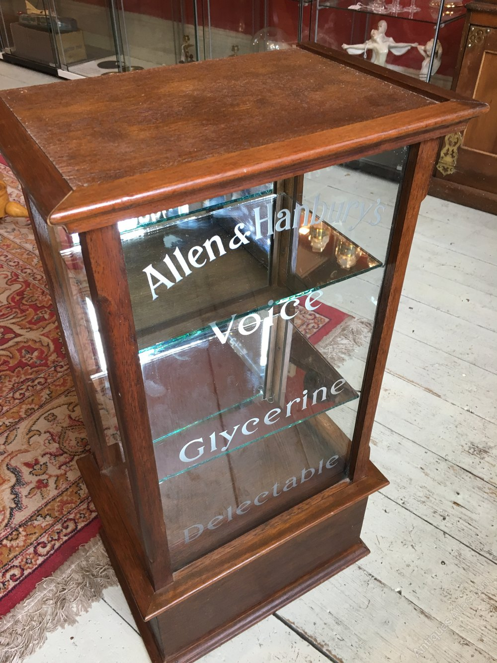 Vintage Counter Top Display Cabinet Antiques Atlas