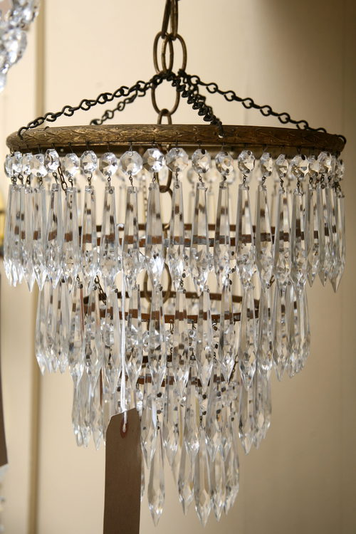 1930s Waterfall Chandelier Antique Chandeliers