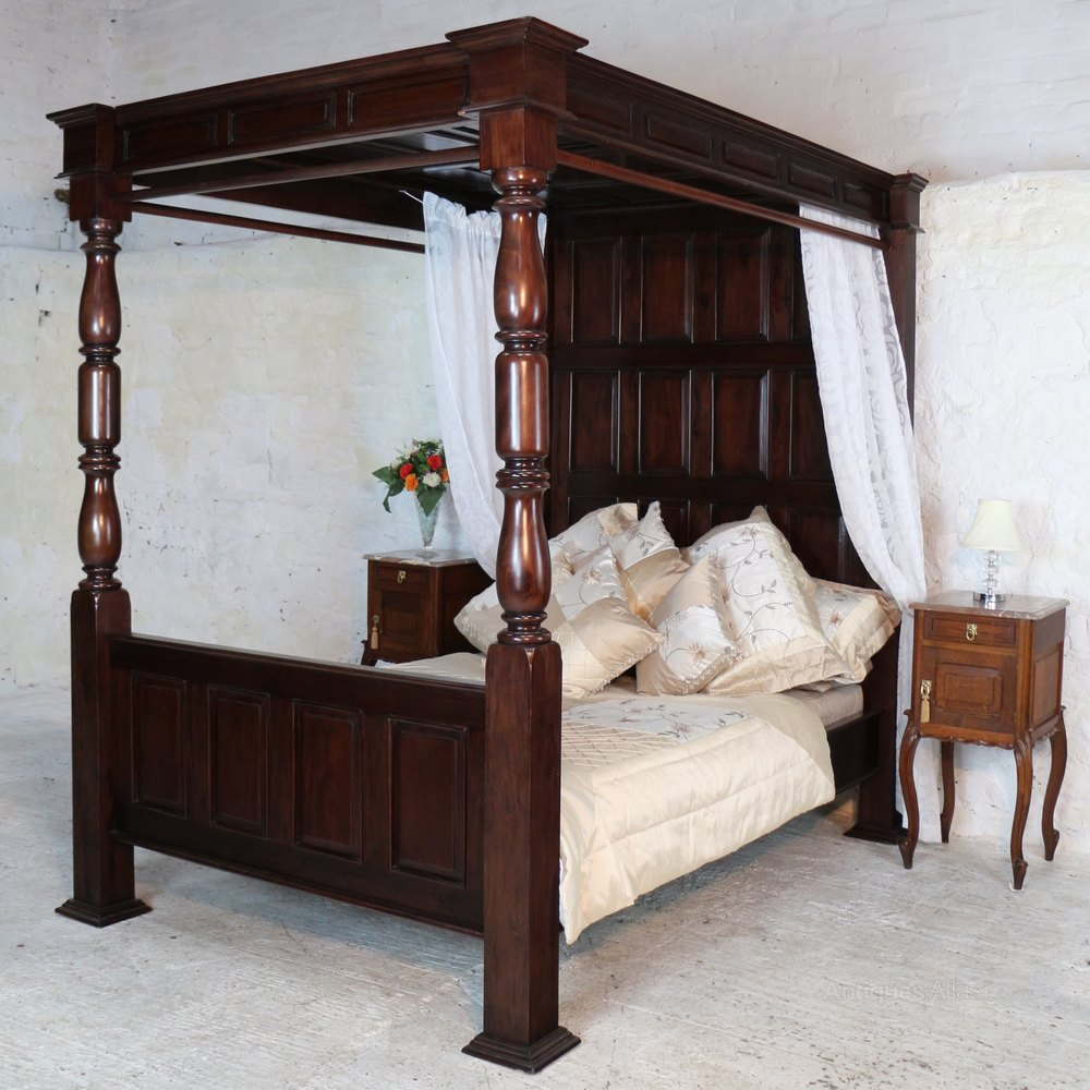 17th Century Style Four Poster Tester Bed Antiques Atlas