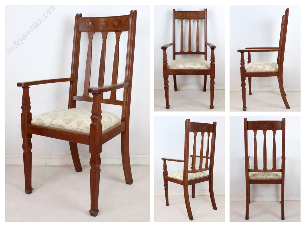 Pair Of Arts Crafts Armchairs Shapland Petter Antiques Atlas