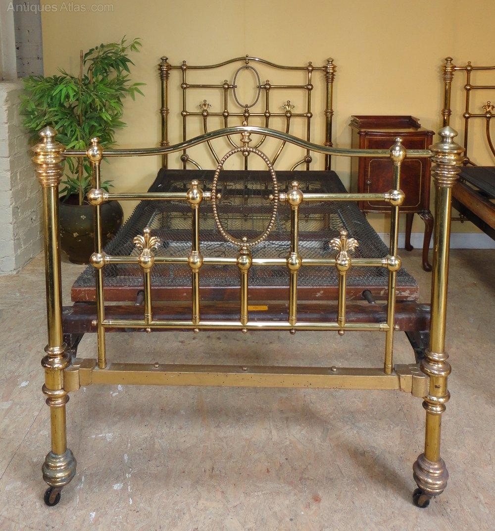 antique brass bed. ANTIQUE BRASS BEDS Victorian Antique Brass Bed