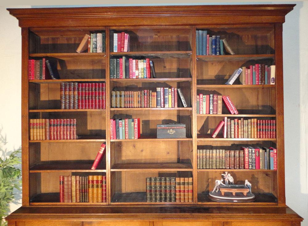 Arts Crafts Bookcase