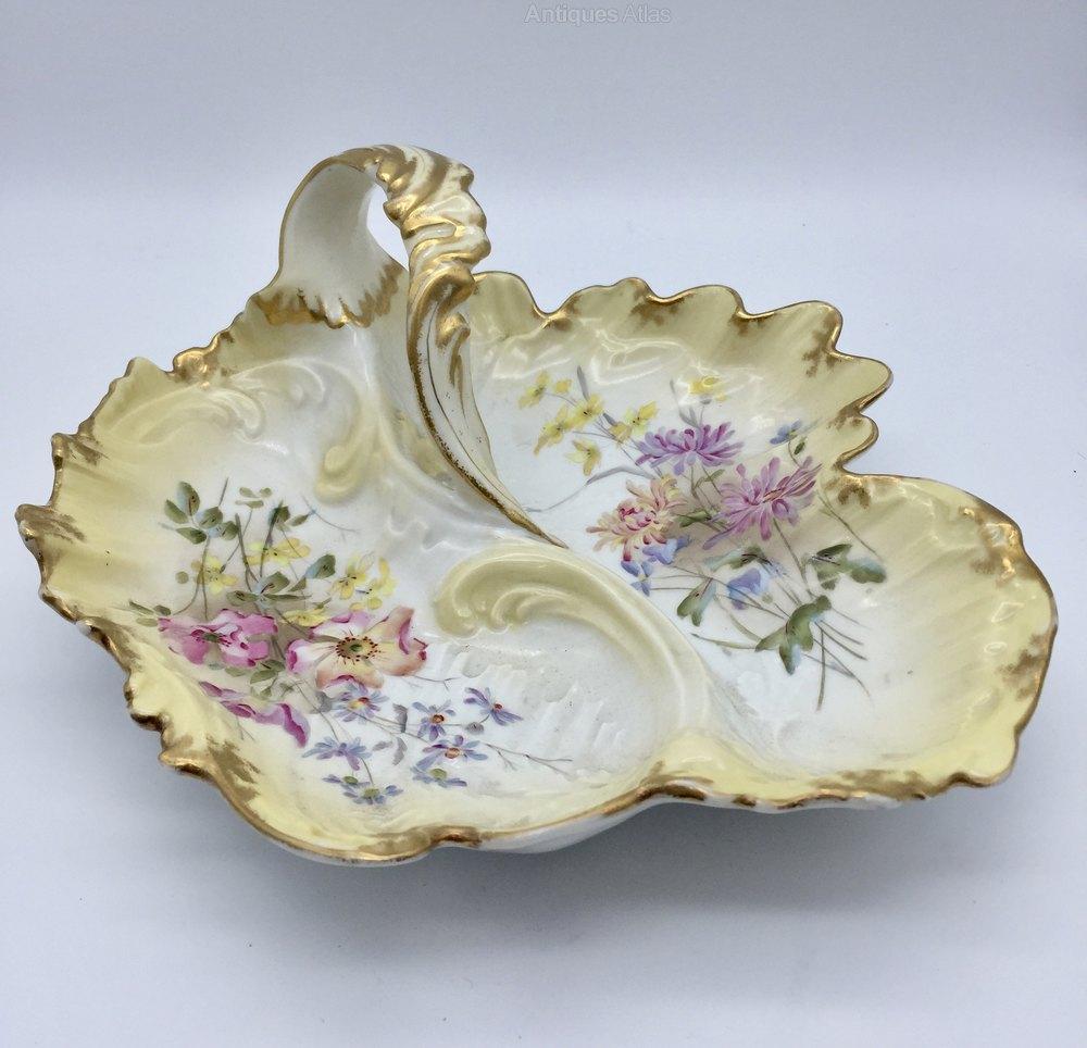 Antiques Atlas - Antique Limoges Porcelain Dish Circa 1890
