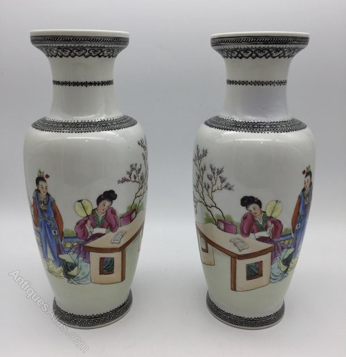 Antiques Atlas Antique Pair Chinese Porcelain Vases