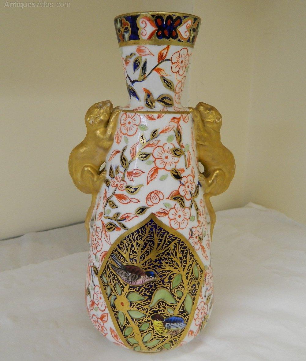 Antiques atlas royal crown derby vase 1883 royal crown derby vase 1883 reviewsmspy