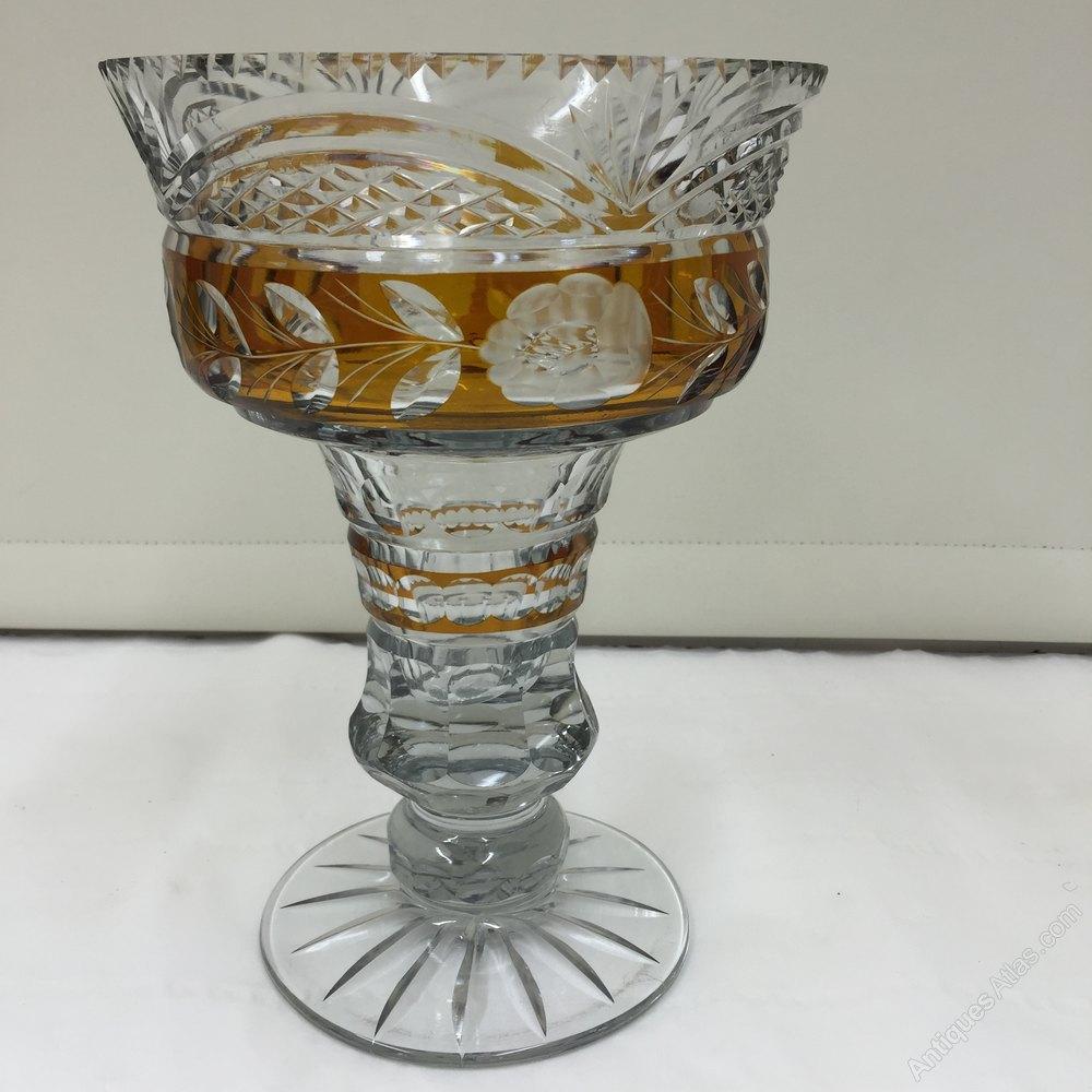 Antiques atlas vintage bohemian cut glass vase reviewsmspy