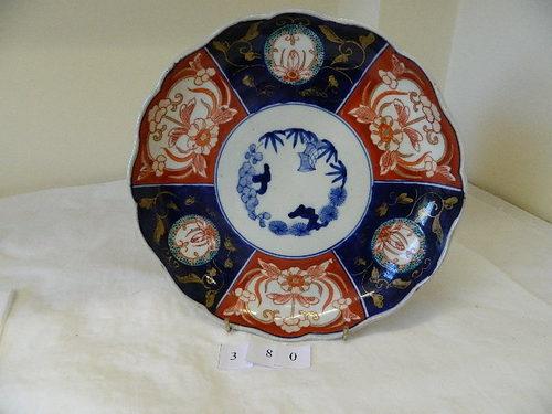 XIX Century Imari deep plate & Antiques Atlas - XIX Century Imari Deep Plate