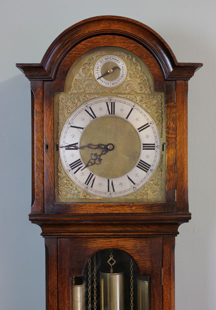 Antiques Atlas Antique Chiming Longcase Grandfather Clock