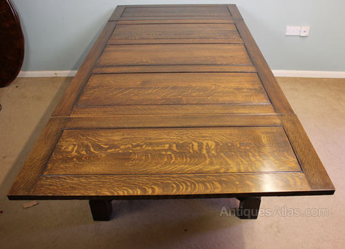 Etonnant Antique Draw Leaf, Extending Dining Table ...