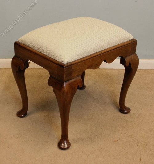 Antique Mahogany Stool Edwardian (1901-1910)