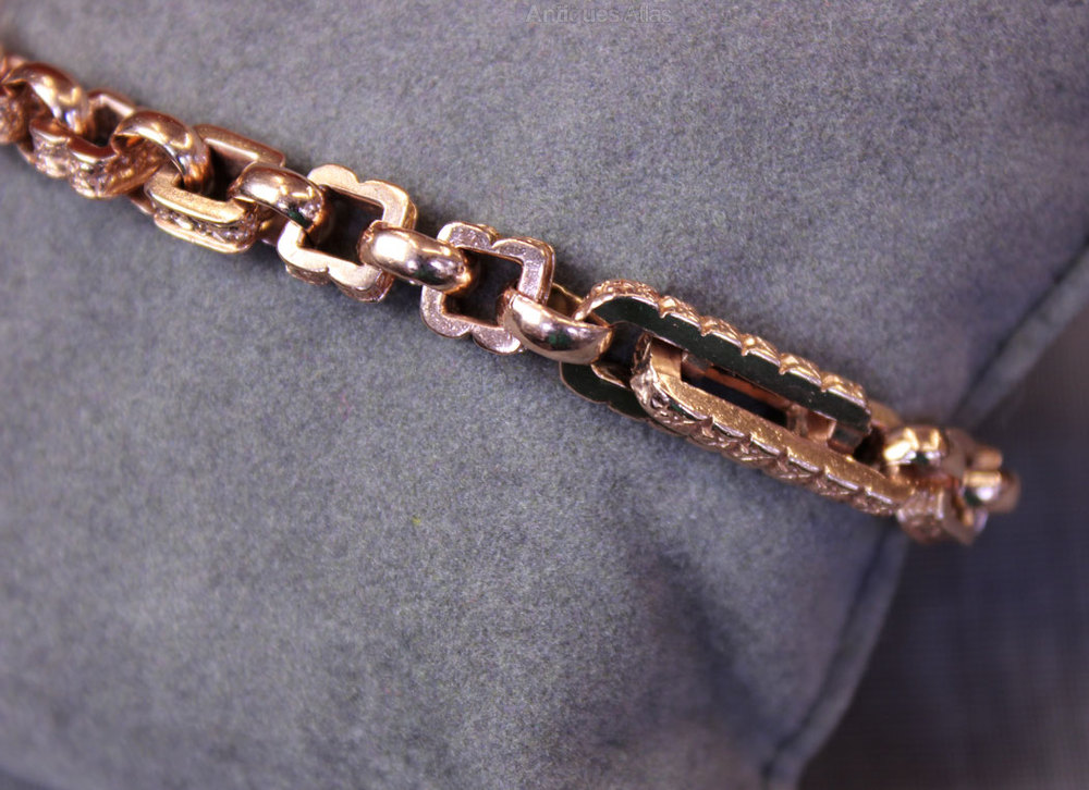 Antique Rose Gold Bracelet Bracelets