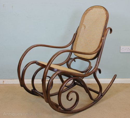 buy popular 92935 fffdf Antiques Atlas - Bentwood Rocking Chair