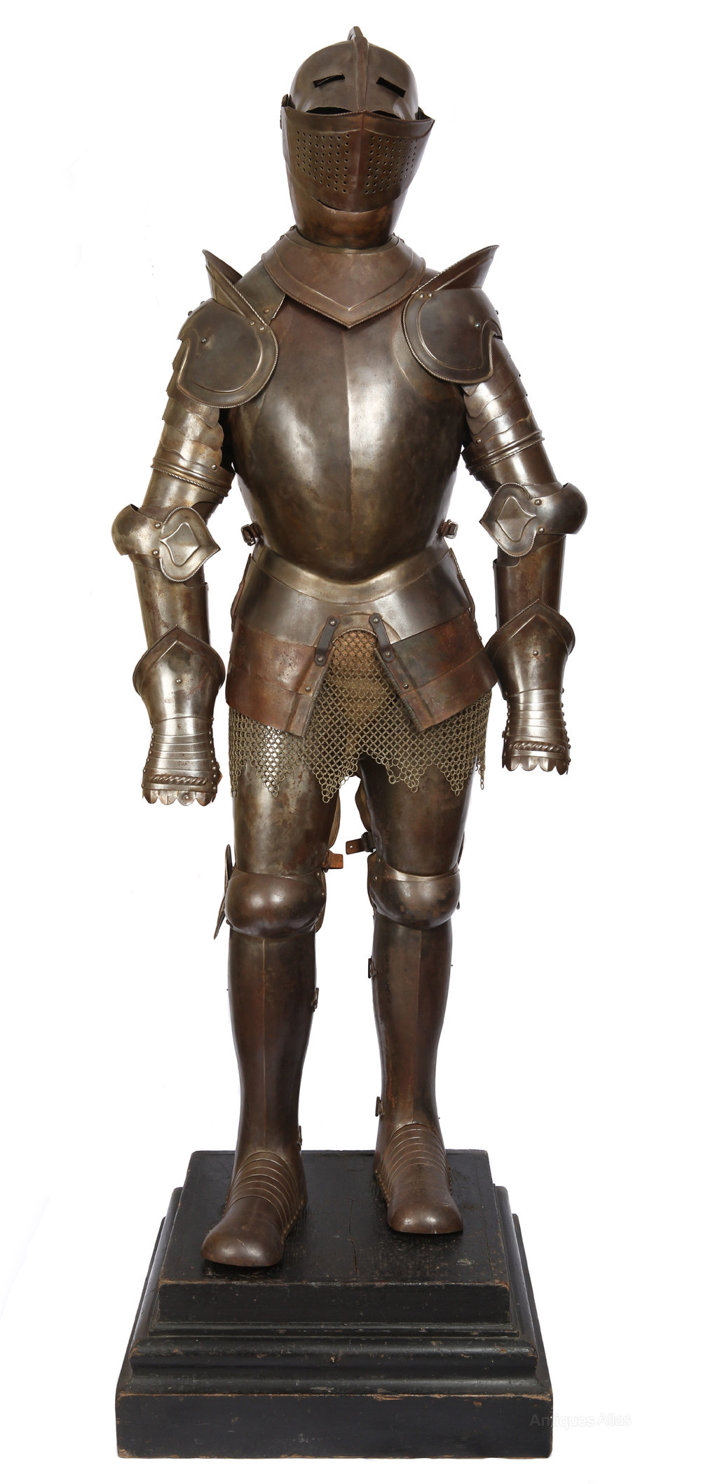 Antiques A Victorian Suit Of Armour