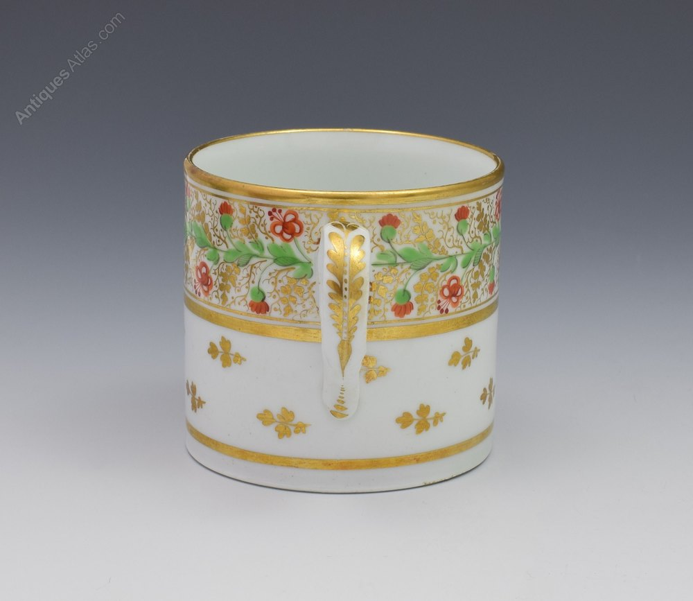 Minton Porcelain Coffee Can Pattern