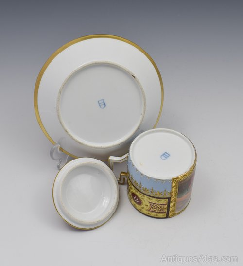 Marks porcelain royal vienna Pottery and