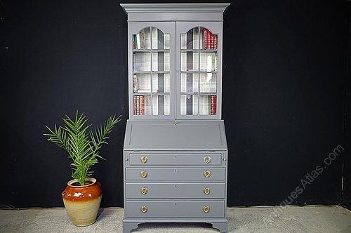 Secretaire Bureau Wit.Secretaire Bookcase Georgian Bureau Antiques Atlas