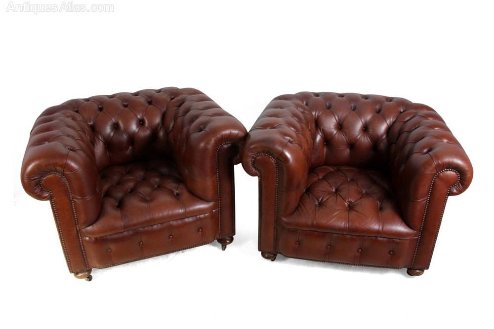 ... Vintage Club Chairs ...
