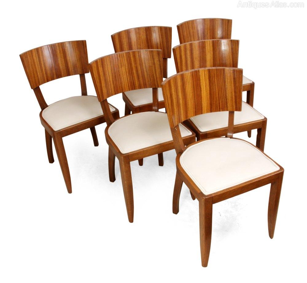 Art Deco Dining Chairs C1930 Antiques Atlas