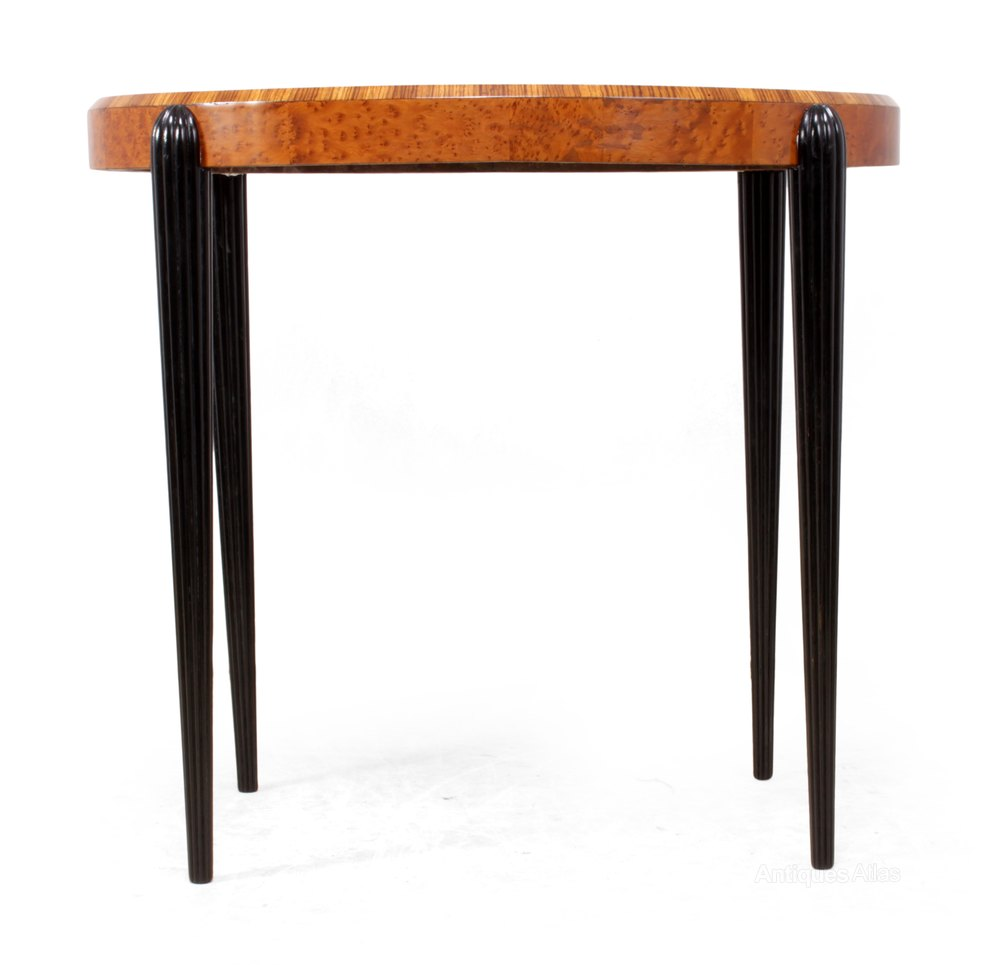 Art Deco Side Table In The Style Of Rhulman Antiques Atlas