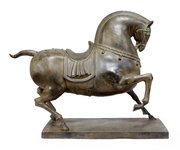 Bronze Horse Sculpture c1950
