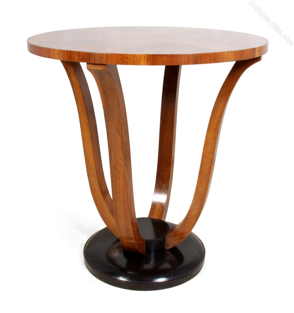 French art deco walnut wine table c1920 antiques atlas - Deco table campagne ...